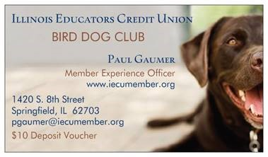 Bird Dog Club contact info